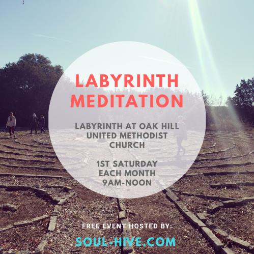 Monthly Labyrinth Meditation Soul-Hive